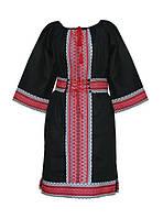 Харьков Вышиванка платье с тканным узором PN-4