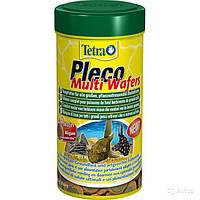 Корм для аквариумных рыб Tetra PLECO Multi Wafers 250 мл чипсы для крупных растительноядных донных рыб