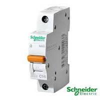 Автоматический выключатель Schneider Electric 1п 16А 11203