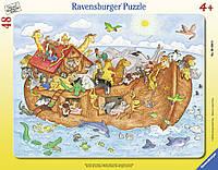 Пазл в рамке Большой Ноев ковчег 48 элементов Ravensburger 06604R