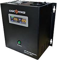 ИБП Logicpower LPY-W-PSW-800+ (560Вт), для котла, чистая синусоида, внешняя АКБ