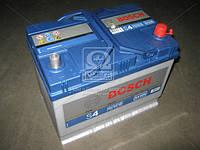 Аккумулятор 70Ah-12v BOSCH (S4026) (261x175x220), правый +, пусковой ток 630(Азия)