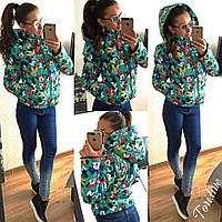 Куртка женская МИККИ на осень. Арт-3797/14. Купить женскую осеннюю куртку