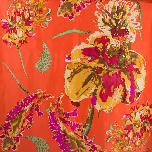 Красивый женский шелковый платок размером 86*87 см ETERNO (ЭТЕРНО) ES1901-2