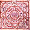 Женский модный шелковый платок размером 89*90 см ETERNO (ЭТЕРНО) ES1902-7