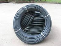 Труба полиэтиленовая водопроводная d32 с синей полосой