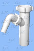 Отвод Анипласт М-140 для стир./посудомоечной машины 1 1/2х40