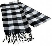 Мужской шарф 190 на 31 см 5014-10 клетка