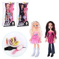 Кукла MX 7018 с набором красок для волос и блеском для губ: стильная подружка для маленькой модницы