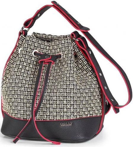 Стильная женская сумка Dolly (Долли) 470 бежевый