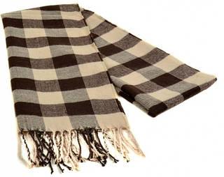 Клетчатый мужской шарф 190 на 31 см 5014-3