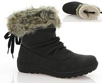 Стильные женские ботинки черного цвета по выгодной цене!