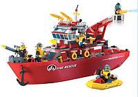 Конструктор детский пластмассовый «Пожарная охрана», отличное качество, увлекательные приключения