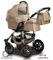 Коляска универсальная детская коляска 2 в 1 Jumper беж