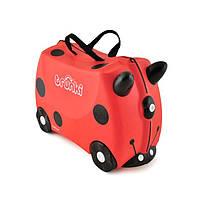 Детский дорожный чемоданчик TRUNKI LADYBUG HARLEY (божья коровка) TRU-L092