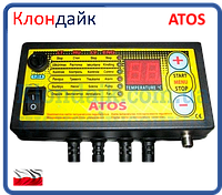 Автоматика для твердотопливных котлов ATOS