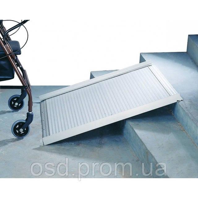 Пандус для инвалидных колясок, складной алюминиевый  OSD (Италия) 210