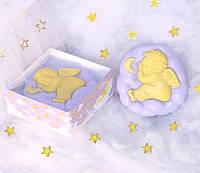 Мыло подарочное ручной работы «Лавандовый сон»