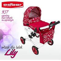 Детская коляска для кукол Adbor Lily (адбор лилу) с сумкой 17