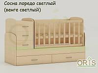 Кровать-трансформер детская Oris Maya