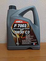 Моторное масло ARECA F7003 5W-30 C3 (5л.), VW 502.00/505.00, MB 229.31, BMW LL04, Opel Dexos 2
