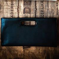 Кожаная женская сумка- клатч ручной работы. Модель 05290