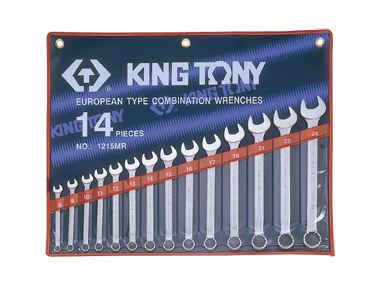 Набор ключей дюймовых 14шт. (5/16' - 1-1/4') KINGTONY 1214SR