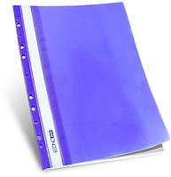 Economix Папка-скоросшиватель А4 с перфорацией. Арт E31510. Цвета в ассортименте