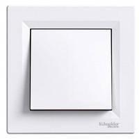Кнопочный выключатель 1-кл. белый Asfora Schneider Electric EPH0700121