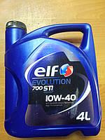 Масло 10W40 ЭЛЬФ  4 литра