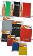 Апельсин Блокнот А5 90л на 2 разделителя, бок пружина, пластик обл арт. Б-БП5-90