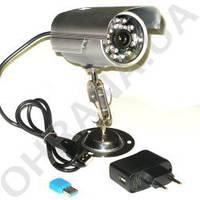 Уличная камера видеонаблюдения с записью на флешку или карту. Alfa Agent 002