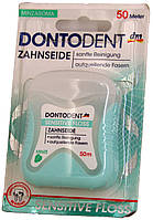 Зубная нитка DM Dontodent Zahnseide Sensitive Floss 50м.