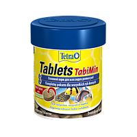 Корм для аквариумных рыб Tetra TabiMin 58 таблеток, корм для донных и пугливых рыб