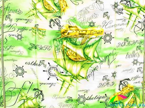Женский яркий шелковый платок размером 87*85 см ETERNO (ЭТЕРНО) ES4032