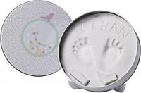 Baby Art Magic Box Original Konfetti. Отпечаток ручек и ножек в круглой коробочке