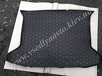 Коврик в багажник на JAC S3 (AVTO-GUMM) пластик+резина