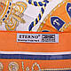 Стильный женский атласный платок размером 90*89 см ETERNO (ЭТЕРНО) ES0406-5-7, фото 2