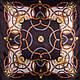 Женский элегантный атласный платок размером 88*90 см ETERNO (ЭТЕРНО) ES0406-5-9, фото 2