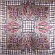Женский нежный атласный платок размером 87*89 см ETERNO (ЭТЕРНО) ES0406-5-13, фото 2