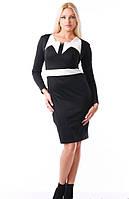 Женское черное платье + болеро Аурика Медини 42-44 размер