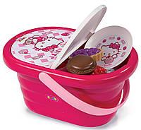 Посудка Корзина для пикника Hello Kitty Smoby 24084
