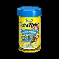 Корм для аквариумных рыб Tetra Wafer Mini Mix 100 мл чипсы для всех донных рыб и ракообразных