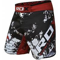 Мужские шорты с липучкой на поясе для MMA RDX серый