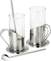 Набор для чая и кофе Calve CL-1593 (2 чашки, 250мл)