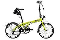Складной велосипед Mini Folding Bike Lime