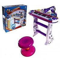 """Детское Пианино-синтезатор на подставке """"Музыкант"""" Joy Toy 7235"""