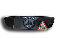 Зимняя накладка на решетку радиатора Mercedes Sprinter 2006-2014 (решетка) глянец