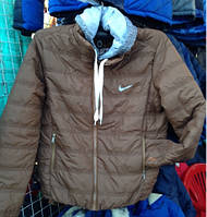 Куртка Ветровка мужская Nike с капюшоном  код 24367