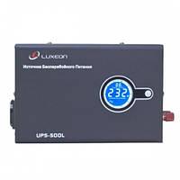 Luxeon UPS-500L 500ВА\Синус\ИБП\стаб.\LCD источник беcперебойного питания для газовых котлов